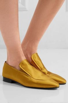Joseph - Satin Loafers - Marigold - IT36.5