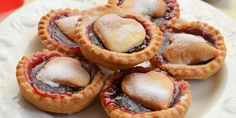 Jam tarts are a quintessential British teatime treat. Why not try making them with a pastry top as a simple yet heart-felt treat for Valentine's Day.