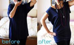 DIY Women Refashion: DIY T-Shirt Refashion on a Sunday Afternoon