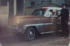 My 53 Chevy when I bought it 22 years ago in May, 1990