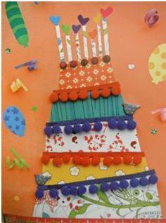 Un somriure neix al cor i floreix als llavis: Aniversaris a l'aula Projects For Kids, Diy For Kids, Crafts For Kids, Craft Kids, Diy And Crafts, Arts And Crafts, Paper Crafts, Art Carte, Art N Craft