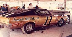 Ford Torino #11 Mario Andretti.  #OLDSCHOOLNASCAR