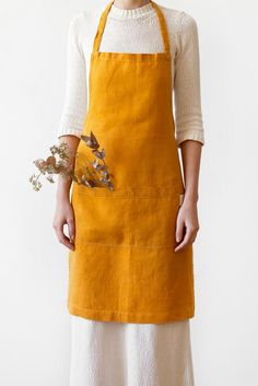 29 Totally Brilliant Home Buys Under $29 #refinery29  http://www.refinery29.com/shopping-cheap-home-decor#slide-11  A bright linen apron will make your Instagrams SO cute this season, even if your pie baking is totally staged....