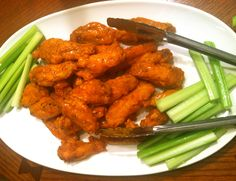 Buffalo wings by Sunny Anderson