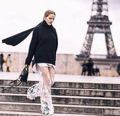 Paris Fashion Week. Jessica Mercedes