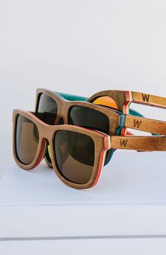 Made from repurposed maple wood skateboard decks, our best selling frame is a tried and true classic wayfarer style that's anything but boring. A universal fit and unisex design make this a great choice for those trying Woodzees for the first time.