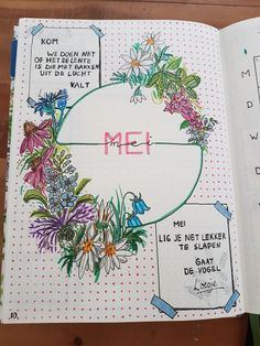 Bullet journal; start new monthly log