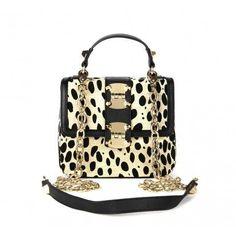 Leopard Print Bag.