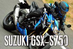 Suzuki GSX-S750 de 2018 – Ensaio