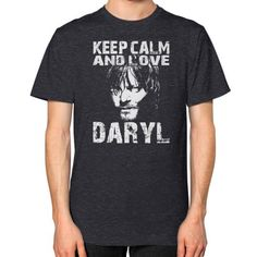Keep calm and love dx Unisex T-Shirt (on man)