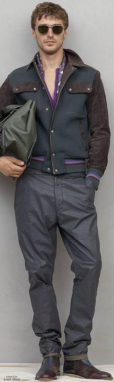 2f63cf83e98a Bottega Veneta Spring 2017 Suit And Tie