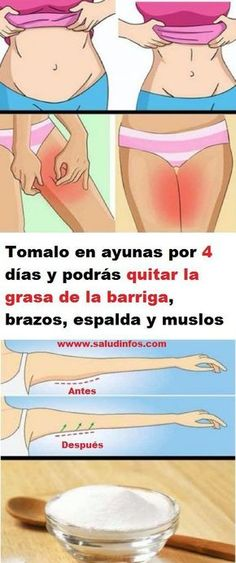 Take it on an empty stomach for 4 days and you can remove the gra - Bebidas Para Adelgazar Health Diet, Health And Wellness, Health Fitness, Wellness Fitness, Allergy Remedies, Herbal Remedies, Yeast Infection During Pregnancy, Detox, Postural