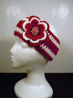 Hey, I found this really awesome Etsy listing at https://www.etsy.com/listing/84664544/oklahoma-sooner-ou-crochet