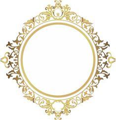 Inserido Boarders And Frames, Wedding Cards Handmade, Wedding Logos, Flower Frame, Design Elements, Diy And Crafts, Pattern Design, Clip Art, Decoupage