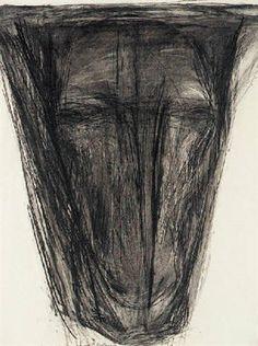 M. Abakanowicz: Bull face, 1987