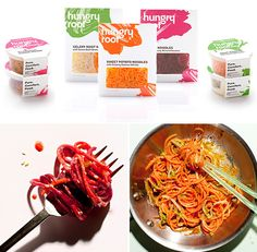 """Want to try out vegetable """"pasta"""" but not ready to invest in a spiralizer? Try Hungryroot, a line of pre-made veggie noodles. 