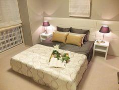 B257表情を愉しむくらし柔らかな印象のベッドルーム。ゆったりと流れる時間を演出します。