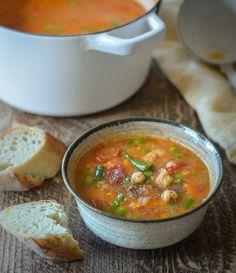 Lentil Vegetable Soup, Tomato Vegetable, Vegan Bean Soup, Pureed Soup, Smoked Paprika, Chowders, Lentils, Stew, Soups