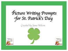 """FREE LANGUAGE ARTS LESSON - """"St. Patrick's Day Picture Writing Prompts"""" - Go to The Best of Teacher Entrepreneurs for this and hundreds of free lessons.  Kindergarten - 8th Grade  #FreeLesson  #LanguageArts  #St.Patrick'sDay  http://www.thebestofteacherentrepreneurs.net/2014/03/free-language-arts-lesson-st-patricks_4.html"""