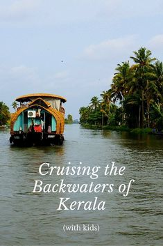 Cruising the Backwaters of Kerala, India with Kids | asia travel
