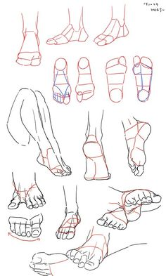 Anatomy Drawing Tutorial Queen - Somebody To Love - Human Figure Drawing, Figure Drawing Reference, Drawing Practice, Drawing Lessons, Art Reference Poses, Drawing Techniques, Drawing Legs, Feet Drawing, Manga Drawing