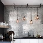 Home Decorators Collection, 1-Light Aged Bronze Cage Pendant, 25415-105 at The Home Depot - Mobile