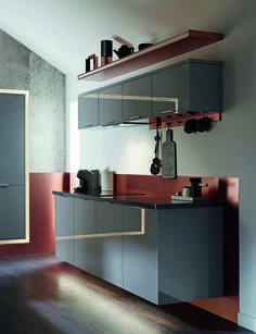 Clean Lines And Contrasts Of Texture Tactility Reflection Are Integral To The Versatile Design