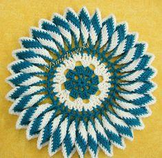 Ravelry: Ruffled Delight Centerpiece pattern by Rosina J Smith