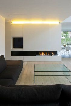 Good Photo Contemporary Fireplace shelves Tips Modern fireplace designs can cover a broader category compared with their contemporary counterparts. Home Fireplace, Hide Tv Over Fireplace, Fireplace Shelves, Family Living Rooms, Freestanding Fireplace, Home, Living Room Tv, Contemporary Fireplace Designs, Living Room With Fireplace