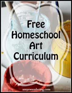 Big list Free Homeschool Art Curriculum for all ages!