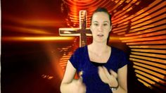 Sara Teaches the Lord's Prayer in Sign Language