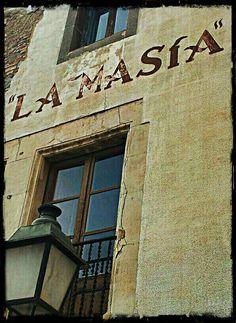 Antiga Fonda La Masia. Moià. Catalunya. #3amiem