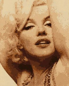 A personal favorite from my Etsy shop https://www.etsy.com/listing/260809188/cross-stitch-pattern-sexy-marilyn