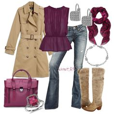 """""""Trench Coat"""" by srose38 on Polyvore"""