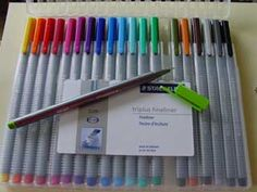 I have their markers but just realized they have pens. So now, I must have the pens as well!