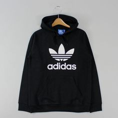 Moletom Adidas Trefoil Preto em até 6x sem juros ou 5% de desconto para compras no boleto. Grande variedade de modelos para comprar moletom Adidas é na Your ID! Adidas Jumper, Adidas Trefoil Hoodie, Adidas Outfit, Adidas Jacket, Sporty Outfits, Cute Outfits, Fashion Outfits, Looks Adidas, Comfy Hoodies