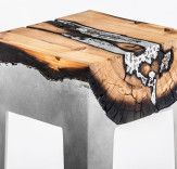Hilla Shamia casts tree trunks in aluminium to create dramatic furniture | Inhabitat - Sustainable Design Innovation, Eco Architecture, Green Building
