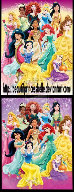 Disney Princesses - Sparkles Is Better Than No Sparkle