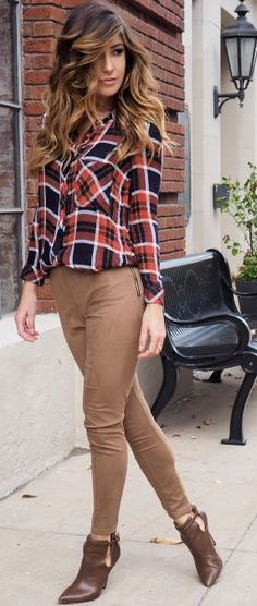 Le Fashion Monster Camel Suede Leggins Fall Street Style Inspo by Le Fashion Monster
