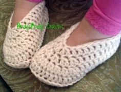 Simple Toddler Slippers
