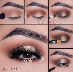 Gorgeous Makeup: Tips and Tricks With Eye Makeup and Eyeshadow – Makeup Design Ideas Eye Makeup Images, Eye Makeup Tips, Smokey Eye Makeup, Makeup Eyeshadow, Makeup Ideas, Makeup Brushes, Makeup Tutorials, Beauty Makeup, Makeup Geek