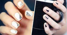 20 Ideas para pintarte las uñas para ir a la escuela Nailart, Casual Fall Outfits, Minimalist Design, Minimalist Nails, Beauty Nails, Acrylic Nails, Acrylics, You Nailed It, Fun Nails