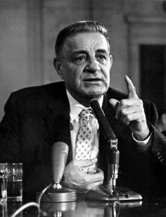 Mobster Rat Joseph Valachi, once a member of La Cosa Nostra, was one of the first gangsters to admit to federal officials that the Mafia existed. In 1963,