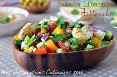 Salade Fettouche libanaise