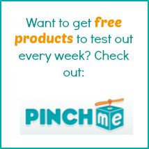 Free things to product test every week at PINCHme! -- from realwaystoearnmoneyonline.com