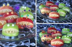 healthy halloween snacks for kids class party | halloween party ideas
