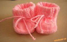 Pletené papučky pro mimi Drops Design, Sock Shoes, Baby Shoes, Knitted Booties, Wool Socks, Needlework, Slippers, Knitting, Kids