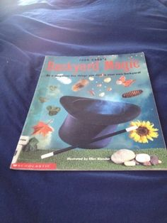 backyard magic softcover library book sale