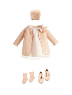 NANOS SHOP ONLINE. Détail de lensemble My Baby Girl, Baby Kind, Baby Girl Fashion, Kids Fashion, Spanish Baby Clothes, Kids Outfits, Cute Outfits, Vestidos Vintage, Stylish Kids