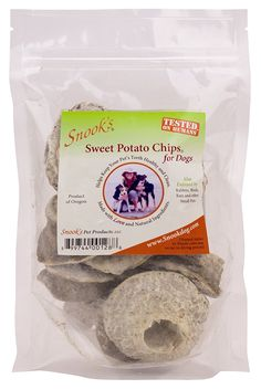 Snooks Sweet Potato Dog Chips 8oz -- Visit the image link more details. (This is an affiliate link) #DogTreats